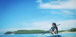 春季七色旅遊景點推薦-藍色系景點SUP立槳衝浪