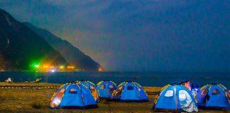 花蓮清水斷崖玩法-無人沙灘野營體驗