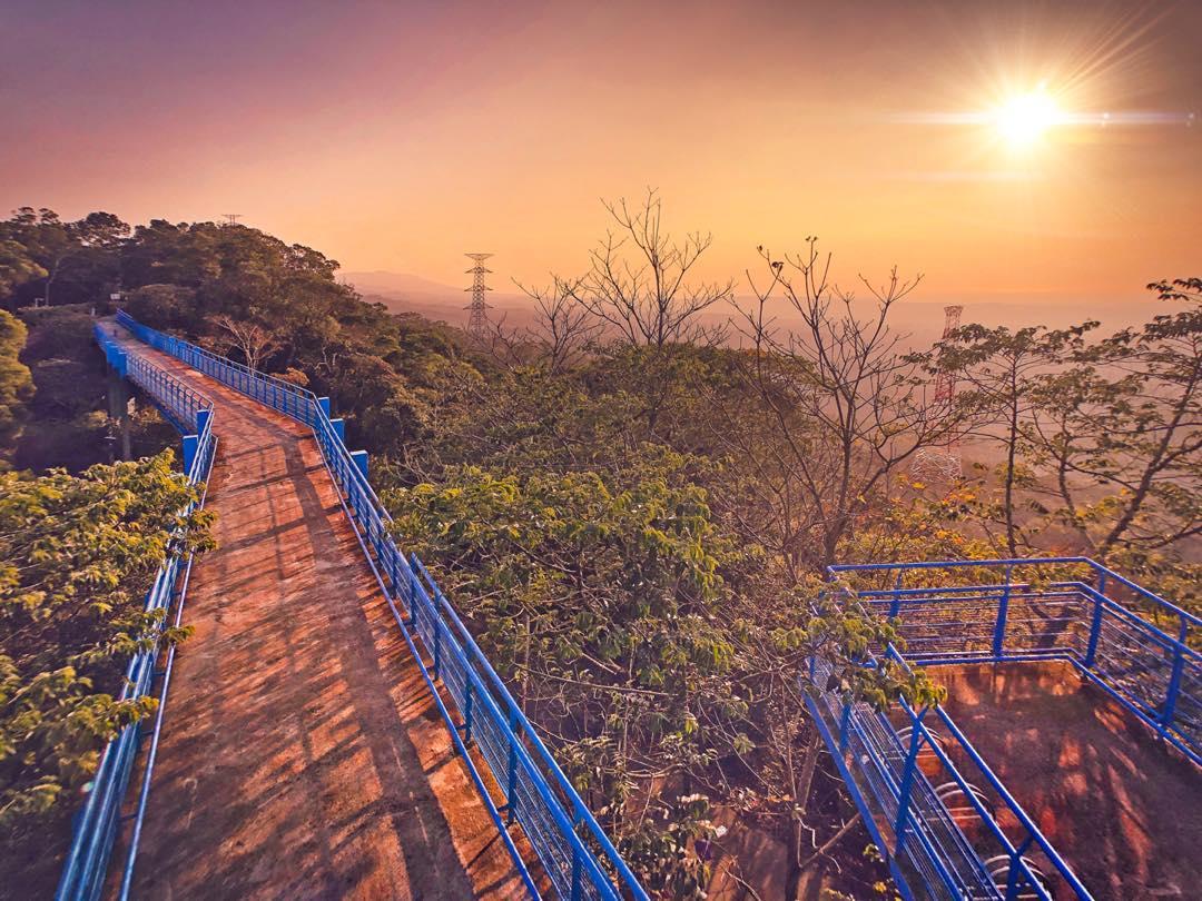 銅鑼必去景點推薦-九華山天空步道